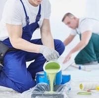Equipe de peinture genevoise